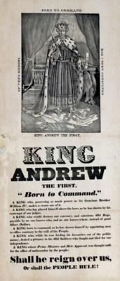 [JACKSON, Andrew (1767-1845)].